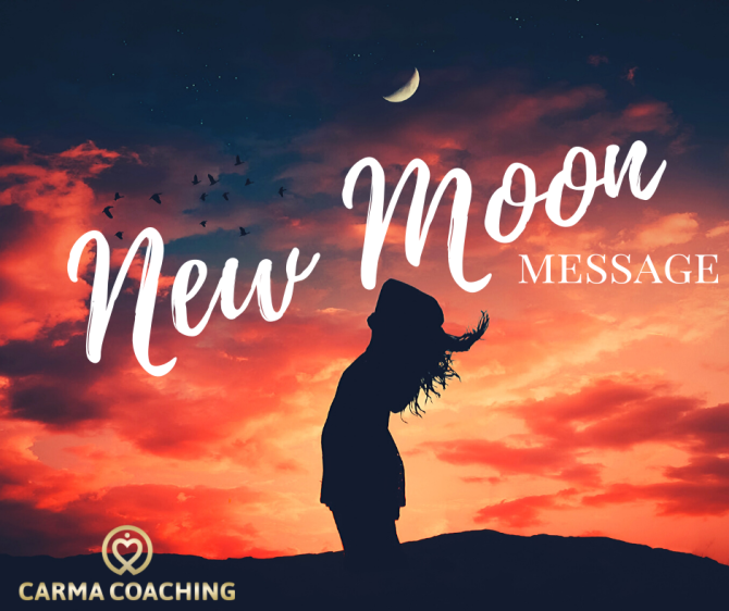 New moon message nieuw