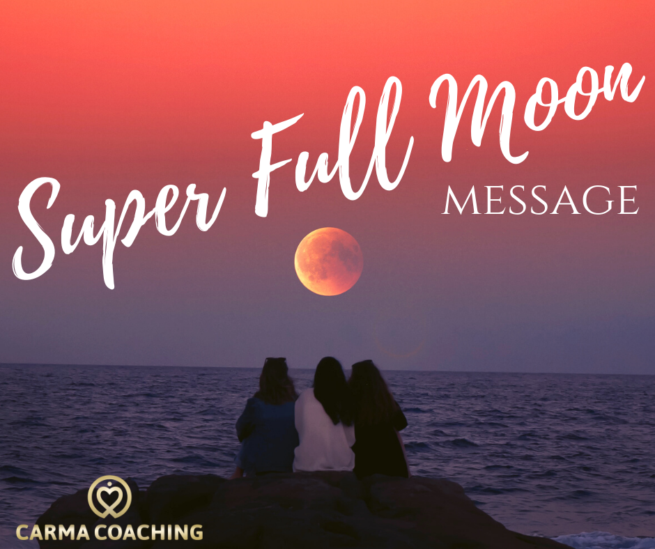 super full moon message nieuw